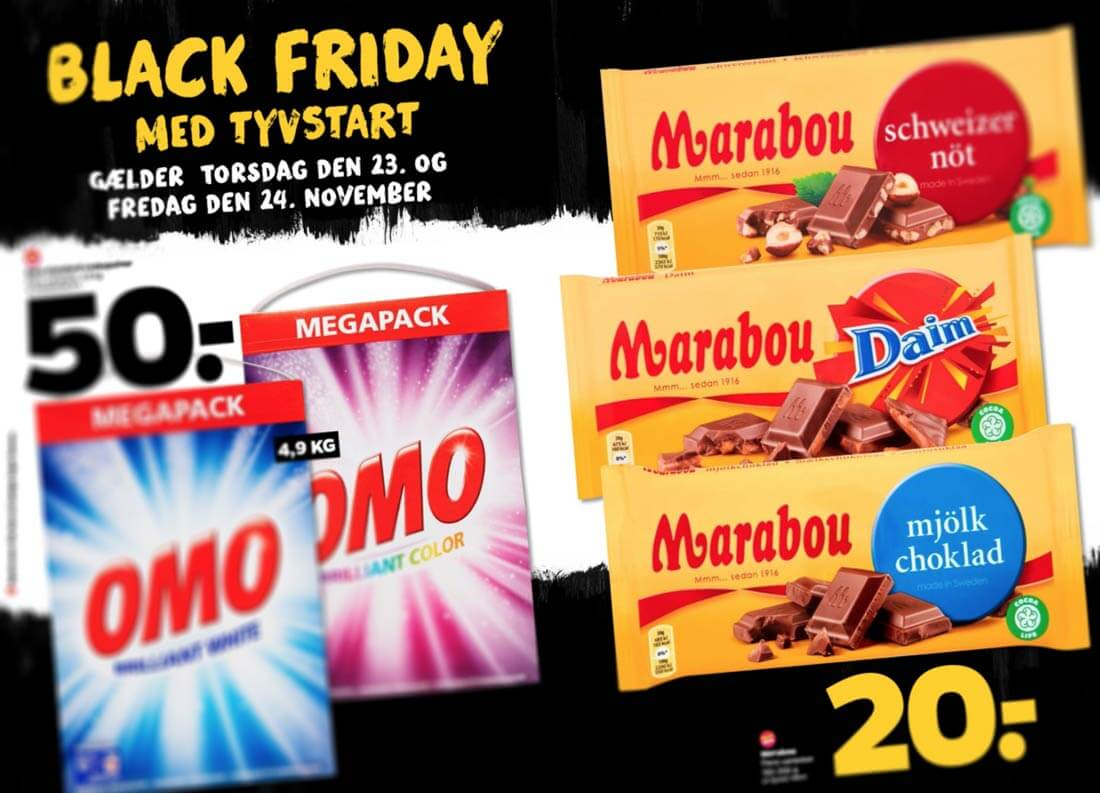 DR P3 Black Friday Marabou i Netto